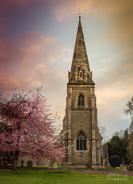 "One of my fav's from York.<br /> <br /> I have already shared a shot of the blossom against the coloured sunrise sky.  <a href=""http://www.flickr.com/photos/jrmurray/6945264868"">http://www.flickr.com/photos/jrmurray/6945264868</a><br /> <br /> This was our first morning on holiday and while the weather was overcast and cloudy there was a brief period where the sun broke through and a lovely atmosphere developed.<br /> <br /> This is a lovely part of the outskirts of York on the South Western side and York University has a campus nearby.  Yesterday's post Heslington Hall is part of the University I think.<br /> <br /> This is a 12 shot (3 frame) HDR vertorama at the resolution of 7632 x 5534."
