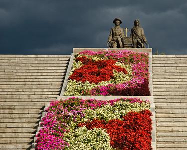 Fleurs à Ekaterinbourg