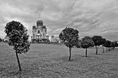 Cathédrale-sur-le-Sang à Ekaterinbourg