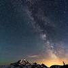 Milky Way near Mount Baker