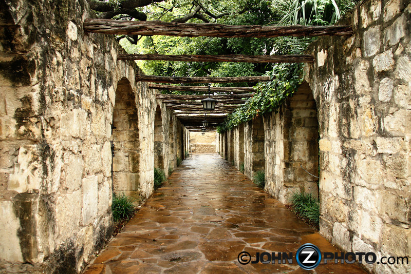 Walkway At The Alamo