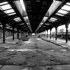 Former Central Jersey Railroad tracks - Jersey City, NJ