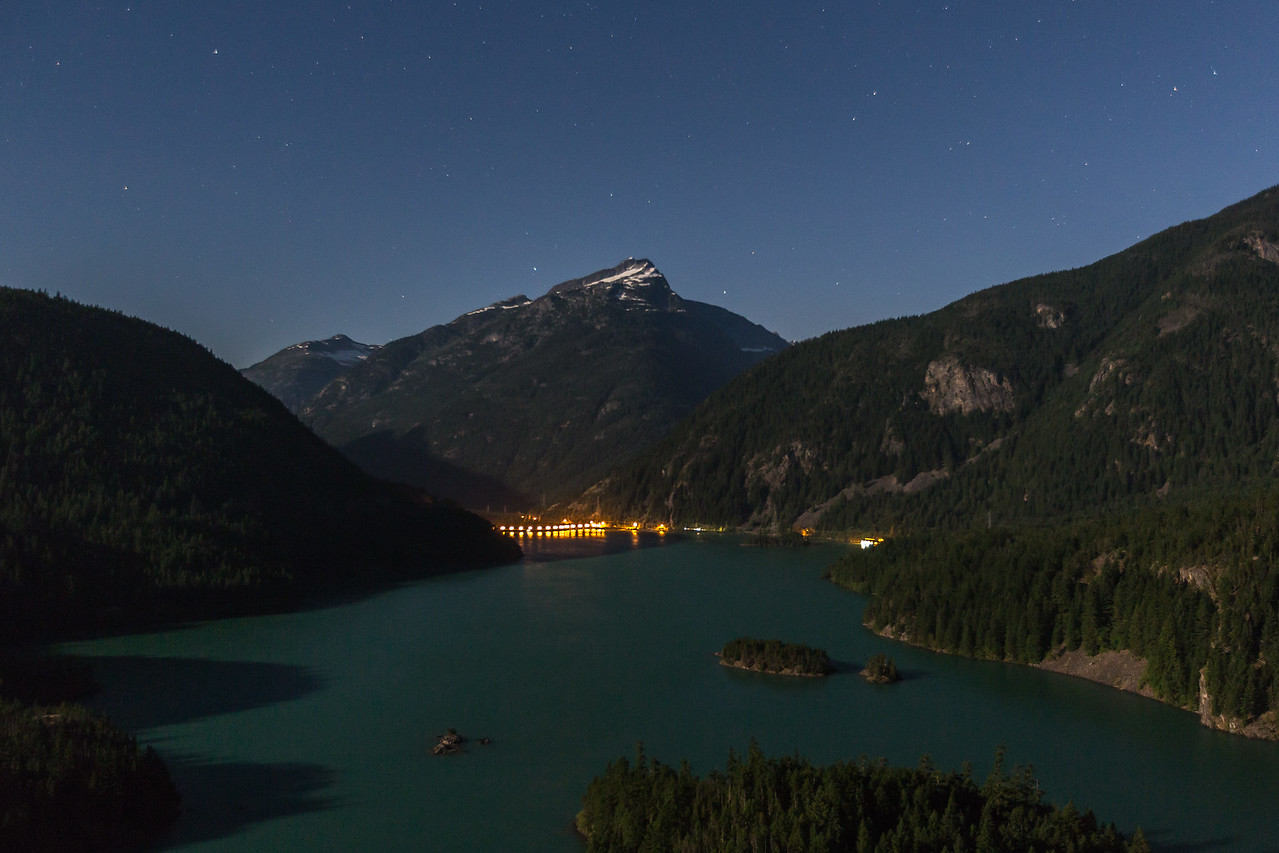 Diablo Lake and Dam