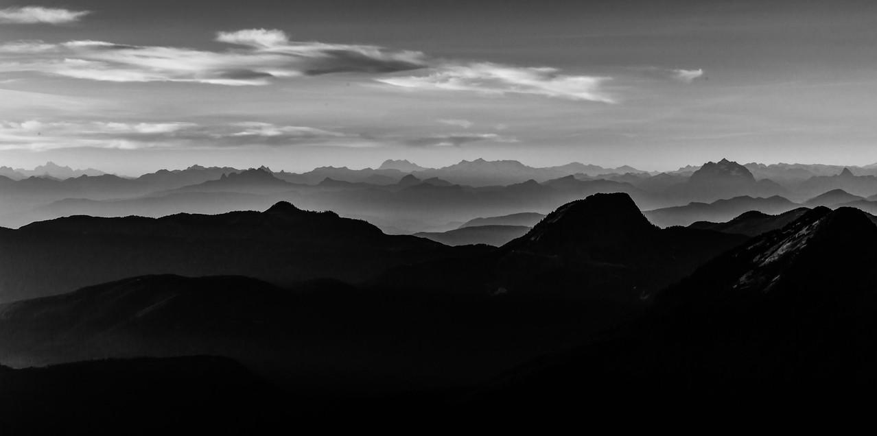 An Ocean of Mountains