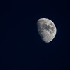 A waxing gibbous Moon at the end of December.