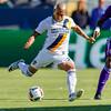 LA Galaxy's Midfielder Rafael Garcia #25