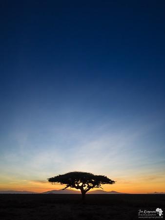 The Big Blue Skies of Tanzania