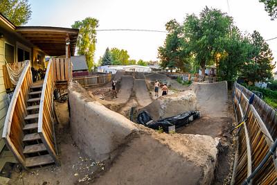 Dirt Jumping in Boise, Idaho