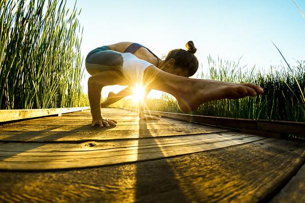 Kacee Ruzicka does Yoga near Fort Collins, CO