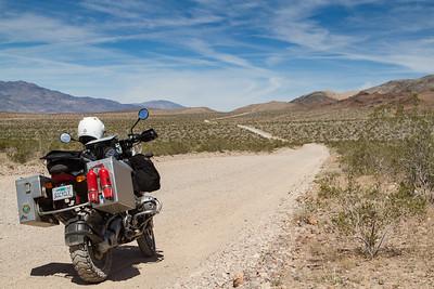 Road to Eureka Dunes