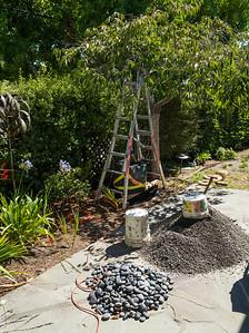 Removed gravel