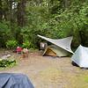 Three tents
