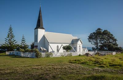 Raukokere Church, Bay of Plenty, East Cape, New Zealand