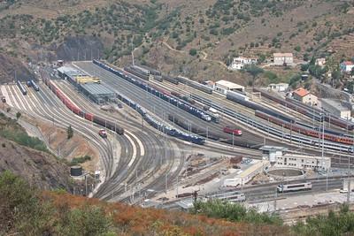 2013-07 Cerbere Train Station