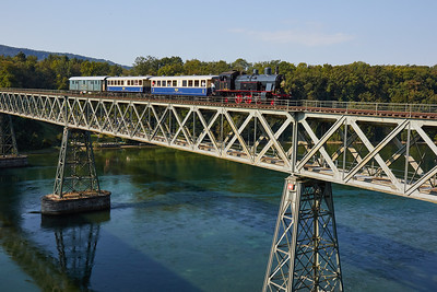 2016-09 Steam Train in Stein am Rhein