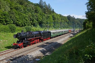 2018-06 Steam Train Rottweil Winterthur