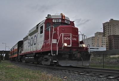 2007-05 North Shore Scenic Railroad