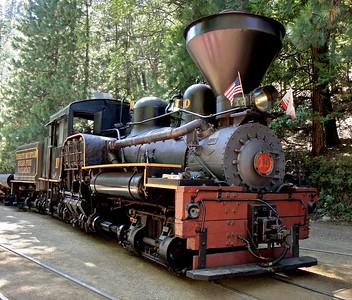 2008-08 Yosemite Mountain Sugar Pine Railroad