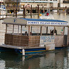 I guess it's seaworthy! The restaurant shuttle at Pier 39 in San Francisco.