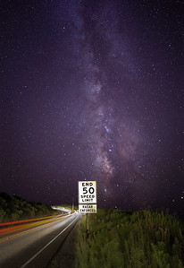 The Milky Way from Highway 84