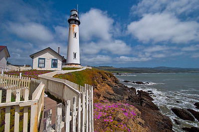 Pigeon Point Lighthouse and Cabin