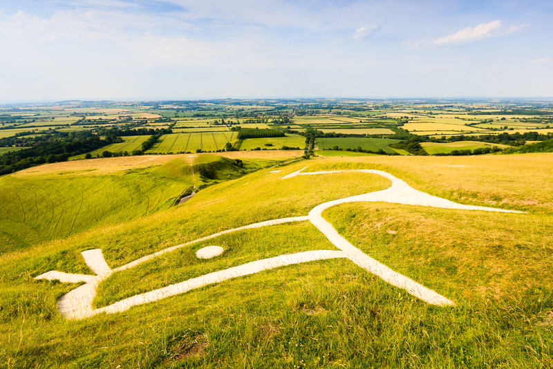 Vale of the White Horse from Uffington