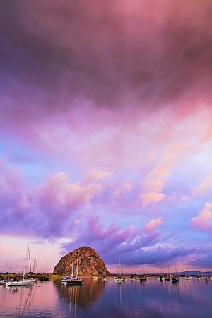 Dawn at Morro Bay