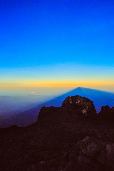 Shadow of Mount Kinabalu
