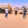 MedAvia CASA C-212 Landing in Libyan Desert (1991)