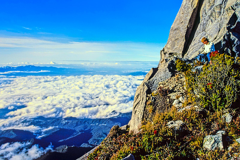 Admiring the View from Mount Kinabalu 2