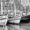 Ton Sai Boats BW