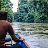 I took this longboat for the 24 miles from Long Terawan to Mulu, the last 4 on the Melinau River. The guy in the brown shirt was my guide.