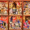 Window of a Souvenir shop in Stratford on Avon
