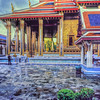 Wat Phra Kaew After the Rain