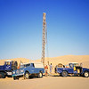 Libyan Desert - Concession 20 - Uphole drilling unit, Neil 'Gus' Gutteridge, Driller.