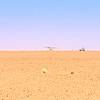 MedAvia CASA C-212 Landing in Libyan Desert (1990)