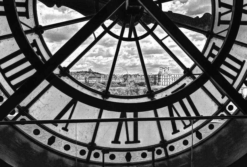 Window in Time BW
