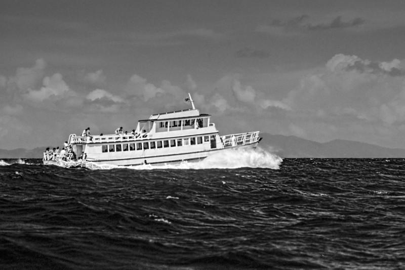 Phuket Ferry BW