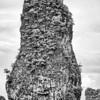 Karst Limestone Island BW