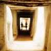The old town of Ghadamis. These covered passageways allow you to move around comfortably in the desert heat.