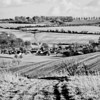Aldbourne from the North-West BW