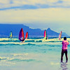 Windsurfing at Sunset Beach