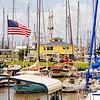 Pleasure boats in Palacios Harbour