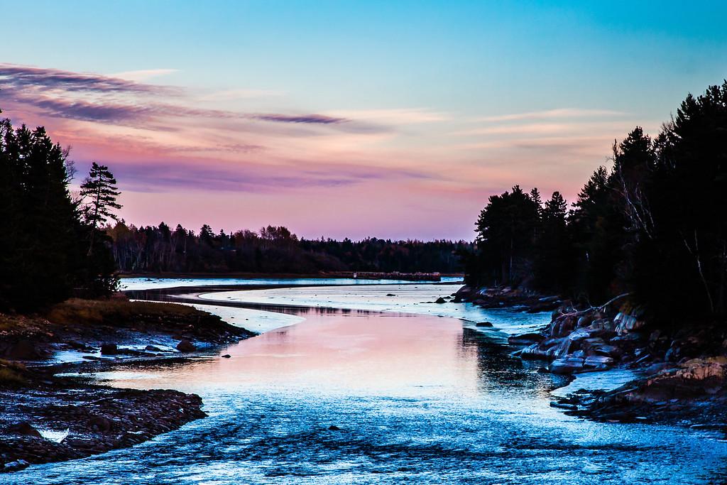 Chandler River Twilight