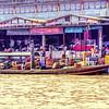 Bangkok River Scene