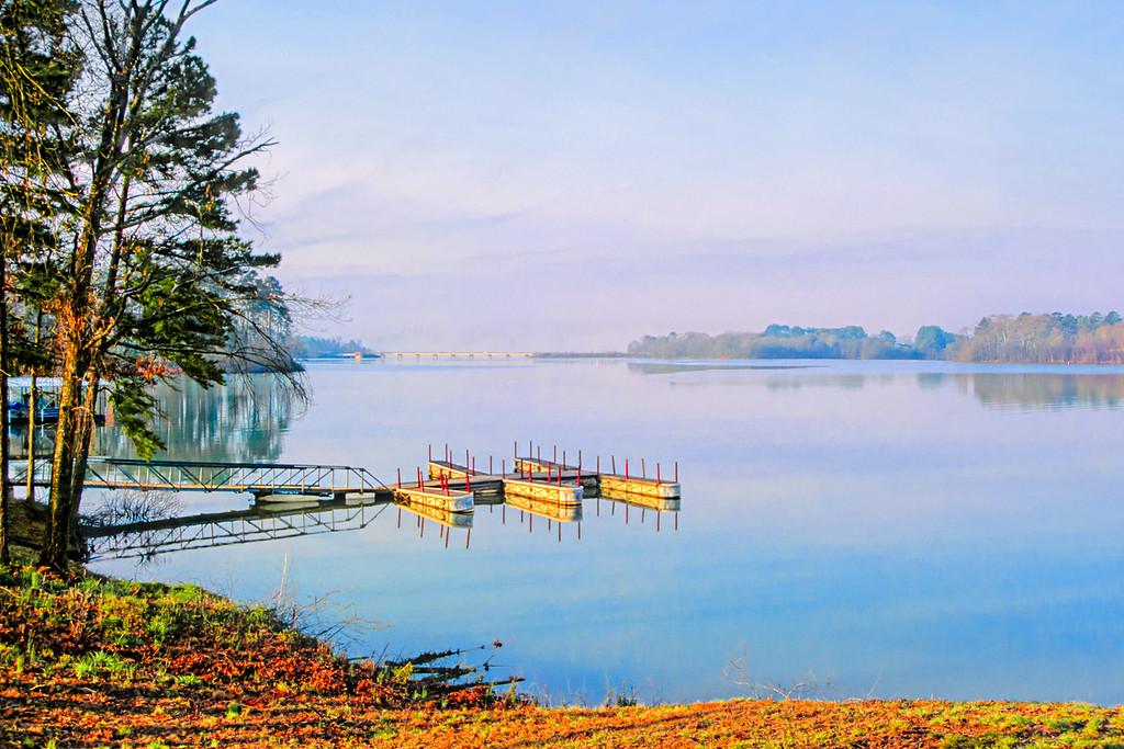 Morning at Lake Hartwell