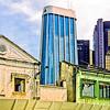 Urban renewal, Kuala Lumpur, Malaysia, 1989.