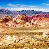 Rainbow Vista, Valley of Fire State Park, Nevada.