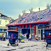 A temple in Georgetown, Penang, Malaysia.