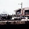Pier in the harbor at Penang.